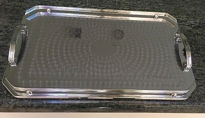 Tray - Ranleigh Australia Stainless Steel- Serving Parties Drinks V Good Cond