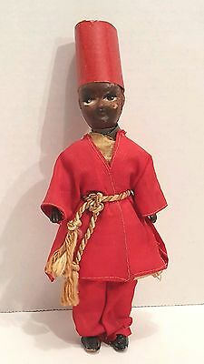 Vintage Celluloid 8 Inch Doll Original Clothes