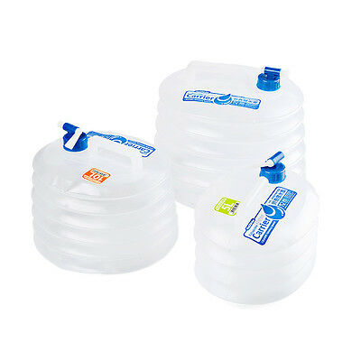 Outdoor Collapsible Water Container Folding Bucket with Tap Water Bag NH14S002-T