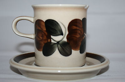 Arabia Finland Ruija Coffee Tea Cup with Saucer Made in Finland AS-IS