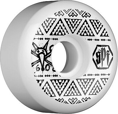Bones - Side Cut 60MM 84B P5 SPF Skateboard Wheels
