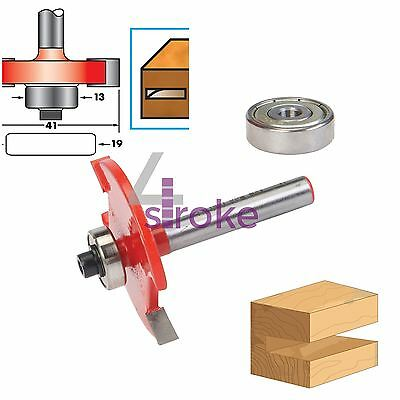 """1/4"""" Shank Biscuit Cutter Router Bits No.10 & 20 TCT Biscuit Joiner Set"""