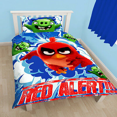 Angry Birds Movie Reversible Single Duvet Cover