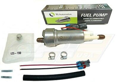 Genuine Walbro / Ti E85 Racing Fuel Pump F90000267 450Lph In Tank W-Install Kit