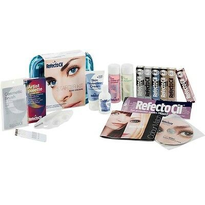 Refectocil Starter Kit Basic Colours All In Complete Tint Eyelashes Eyebrows