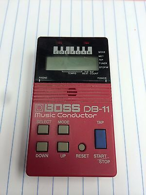 Boss DB-11 Music Conductor Vintage Digital Metronome for Guitar