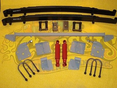 C.e. As-1017C Complete Leaf Spring Rear End Mounting Kit 1936 Chevy Standard