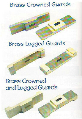 Brass Guards,Knifemaking Guard,Crowned & Lugged, Knife Craft *