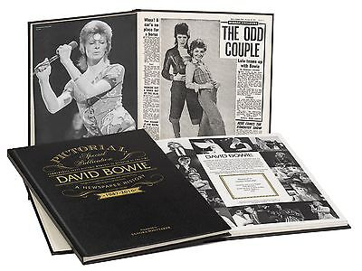 Personalised David Bowie Pictorial Edition Newspaper Book