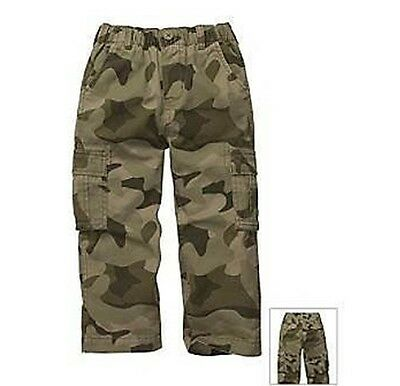 OshKosh B'gosh Toddler Boys Brown Green Camo Cargo Pants Size 24Months  NWT