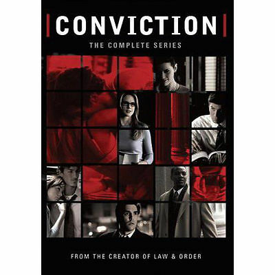 Conviction - The Complete Series (DVD, 2006, 3-Disc Set) - NEW!!