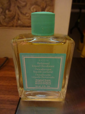 Avon Perfumed Liquid Deodorant Original Scent 2 fl.oz. (59 ml) NWOB