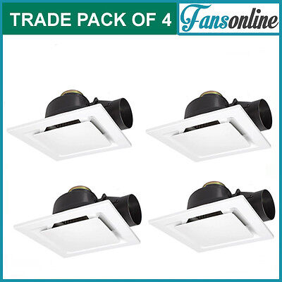 Fanco Metro Pro 250 Exhaust Fan - White **TRADE PACK OF 4 | Bathroom Extraction