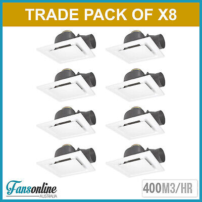 Fanco Metro Pro 250 Exhaust Fan - White **TRADE PACK OF 8 | Bathroom Extraction