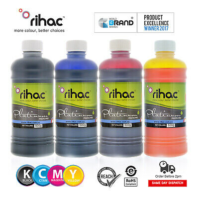 Rihac 500ml Refill Inks for Brother LC233 cartridge MFC-J4620DW CISS LC235 LC237