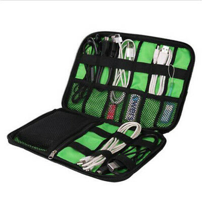 Organizer Travel Case Electronic Accessories Drive Insert USB Bag Cable Portable