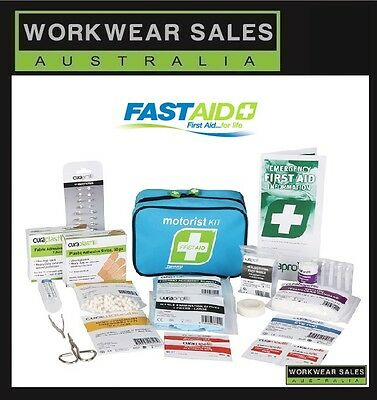 Fastaid R1 Motorist Kit First Aid Kit  High Quality 176 Pieces Free Post