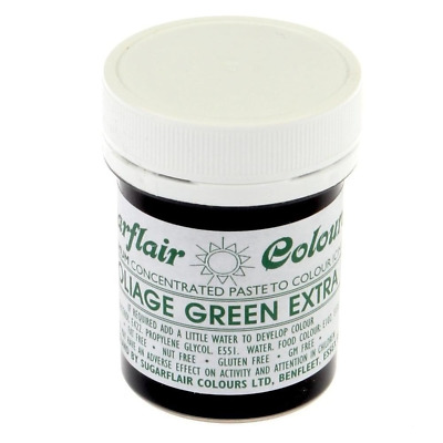 GREEN EXTRA - SUGARFLAIR MAXIMUM CONCENTRATED FOOD COLOUR ICING COLOR 42grams