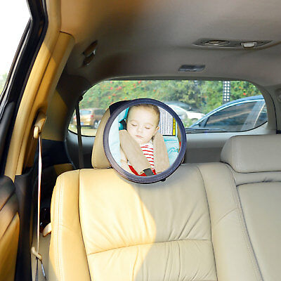 TFY 10In-Sight Auto Mirror See-My-Baby Rear Facing Car Seat Safety Mirror