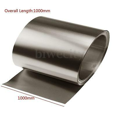 Pure Iron Foil Fe Thin Sheet Plate 0.05mm x 100mm x 1000mm Metalworking Supplies