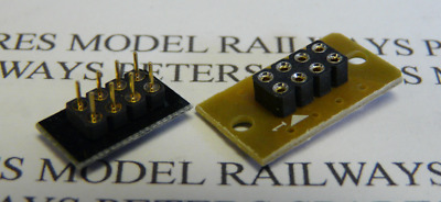 Hornby X9084R DCC 8-Pin PCB Socket & Pins For Many Locos (Refined)