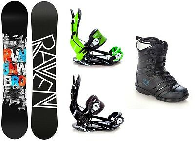 Snowboard Raven Explorer Gullwing + Bindung Fastec FT270 + Boots Northwave Force
