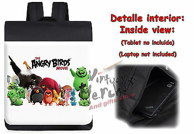 MOCHILA PERSONAJES ANGRY  BIRDS MOVIE backpack rucksack ES