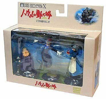 Ghibli Howls Moving Castle Cominica Image Model Collection