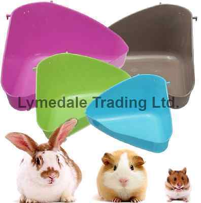 Trixie Small Animal Rabbit Guineapig Eco Toilet Corner Loo Litter Tray