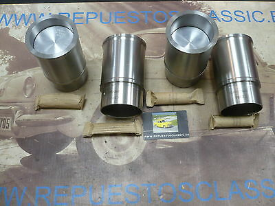 EQUIPO MOTOR COMPLETO 76 mm 1397 cc RENAULT 12 TS, 5 TX, EXPRESS 9, 11 18 PISTON