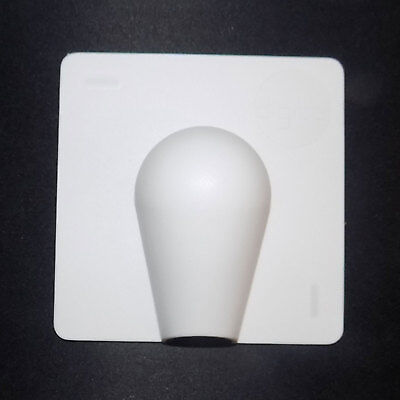 Exterior Cable Entry / Brick Blast Cover Plate White