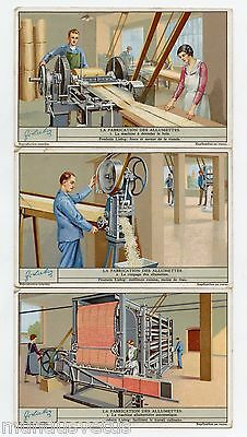 S1293 * The Production Of Matches * Fabrication Des Allumettes (1934)