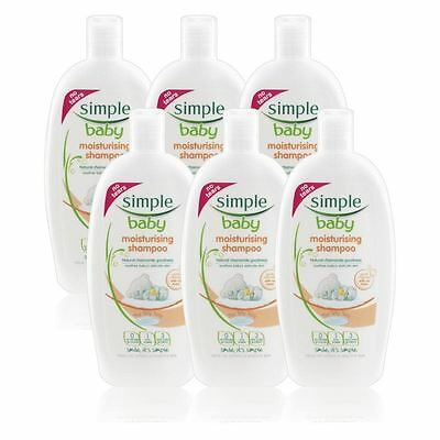 Simple Baby Moisturising Shampoo 300 ml - 6 Pack