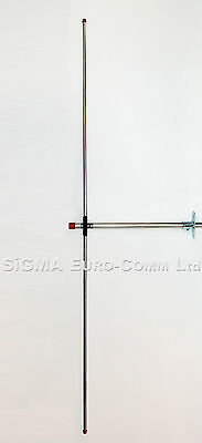 FM BROADCAST DIPOLE ANTENNA  AERIAL & FIXINGS  88-108 MHz 500 watt