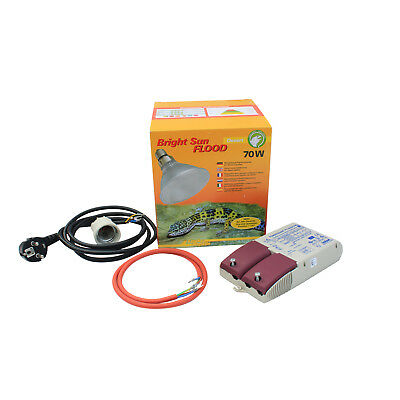 Lucky Reptile Bright Sun UV Komplett Set Desert Jungle Flood 70 Watt EVG Osram