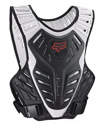 New Fox Racing Titan Race Subframe Mx Atv Roost Chest Protector S/m Small Medium