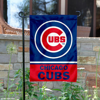 Chicago Cubs Garden Flag and Yard Banner