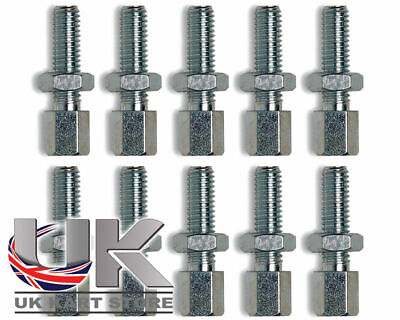 M6 x 30mm Throttle Cable Adjusters Clamps x 10 TonyKart Compkart UK KART STORE