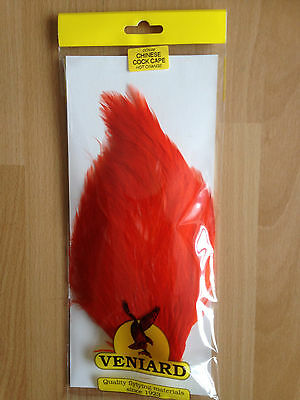 Veniard Chinese Cock Neck Capes Dyed Fly Tying Material New UK
