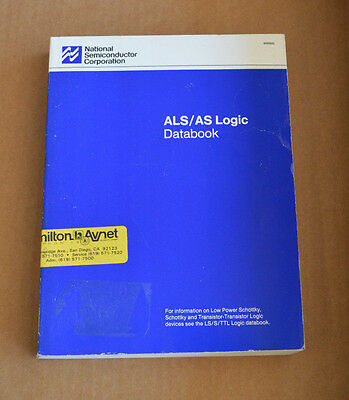 National Semiconductor ALS / AS Logic Databook Data Book