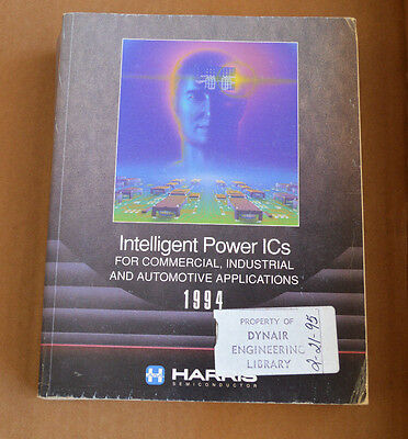 Harris Intelligent Power ICs Data Book 1994 - Databook