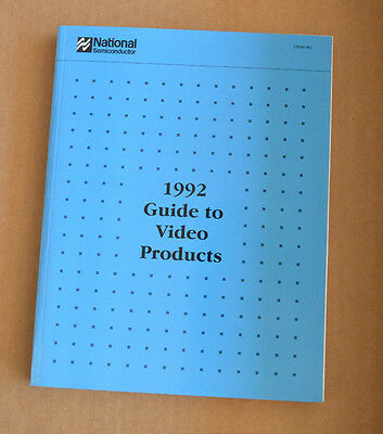 National Semiconductor Data Book - 1992 Guide To Video Products