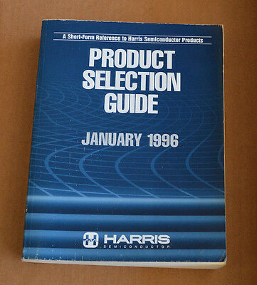 Harris Semiconductor Data Book - Product Selection Guide January 1996