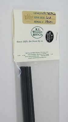 WINSTON BORON III X 9' 6 Weight PLUS Fly Rod Blank