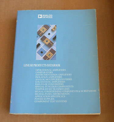 Analog Devices Data Book - Linear Products Databook 1988