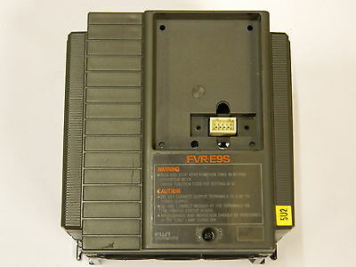 Fuji FVRO.4E9S-7EX 1PH 200-240VAC 0.4KW 3A Inverter 0.2-400Hz