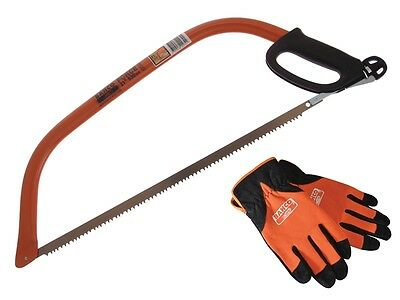 Bahco 53cm (21in) Bowsaw with Gloves & 2 Extra Blades BAH21BOWPK