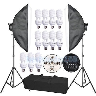 Photography Studio Adjustable Background Support Stand Backdrop Crossbar Kit