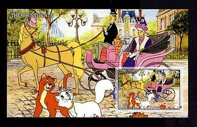 Disney - 2011 - Aristocats - Carriage - Horse -  Mint Imperf S/sheet!