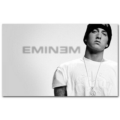 Hot Rap Music Star Eminem Art Silk Canvas Poster 13x20Inch Print For Decor